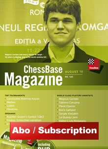 ChessBase Magazin Abonnement
